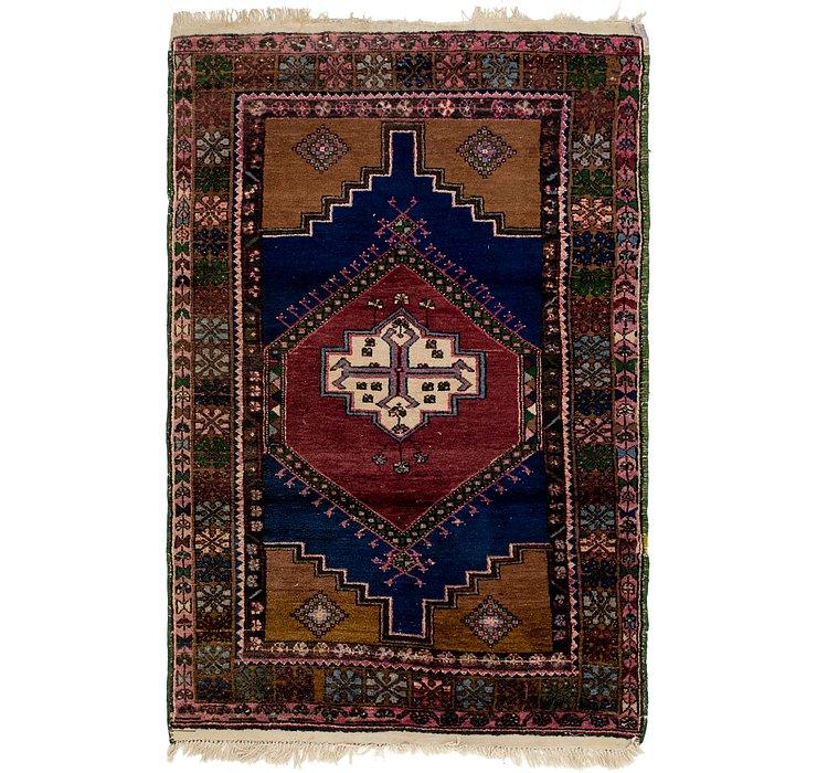 HandKnotted 4' 2 x 6' 2 Anatolian Rug