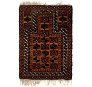 Link to 2' 7 x 4' Balouch Persian Rug