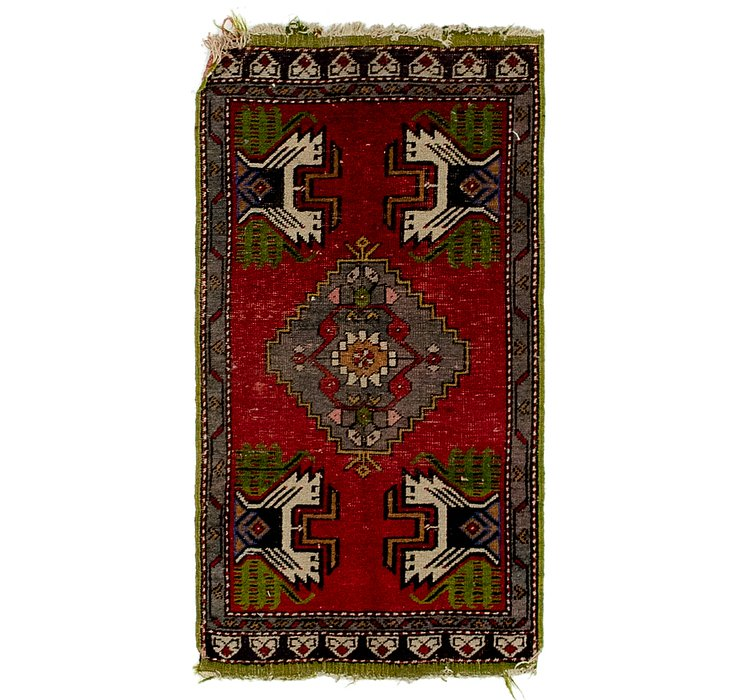1' 8 x 3' 3 Anatolian Rug