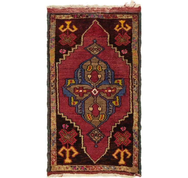 1' 8 x 2' 10 Anatolian Rug
