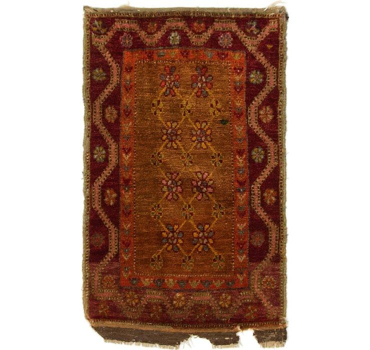 1' 9 x 2' 9 Anatolian Oriental Rug