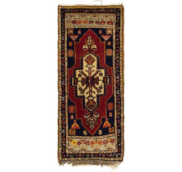 1' 9 x 4' 2 Anatolian Runner Rug