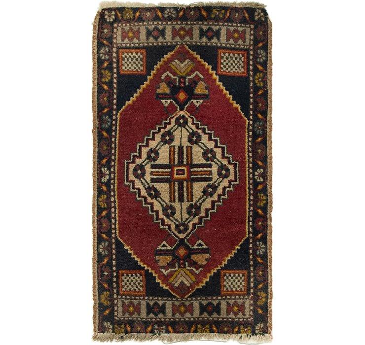 1' 10 x 3' 3 Anatolian Rug