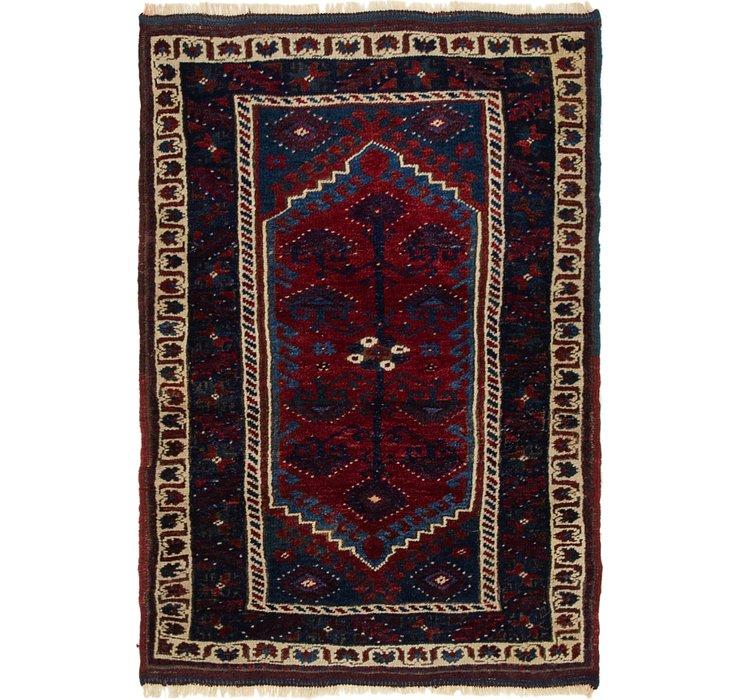 2' 10 x 4' 3 Kars Oriental Rug