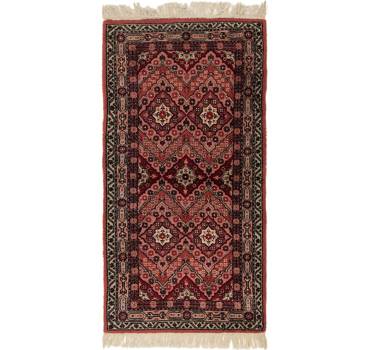 HandKnotted 2' 4 x 4' 7 Moroccan Rug
