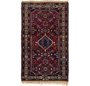 Link to 2' 5 x 4' 4 Hamedan Persian Rug