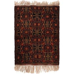 2' 10 x 3' 8 Shiraz Persian Rug