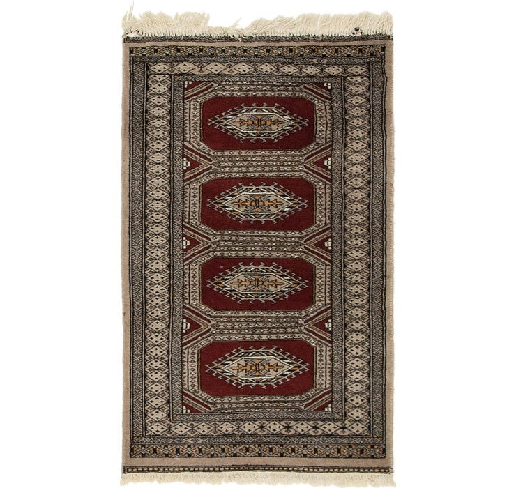 HandKnotted 2' x 3' 5 Bokhara Oriental Rug