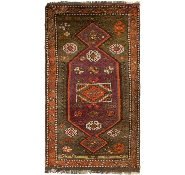 1' 10 x 3' 2 Anatolian Rug