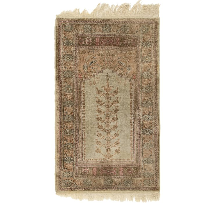 65cm x 110cm Kashmir Rug