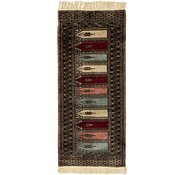 Link to 2' 2 x 4' 10 Lahour Oriental Runner Rug