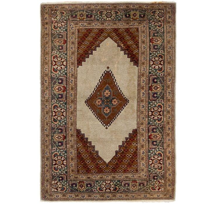 HandKnotted 2' 10 x 4' 5 Tabriz Oriental Rug