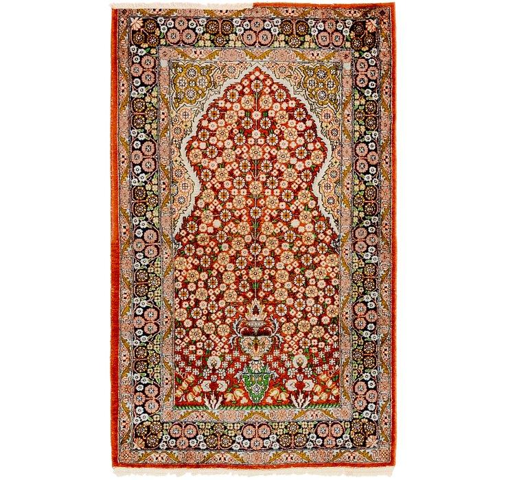 2' 6 x 4' 2 Kashmir Oriental Rug