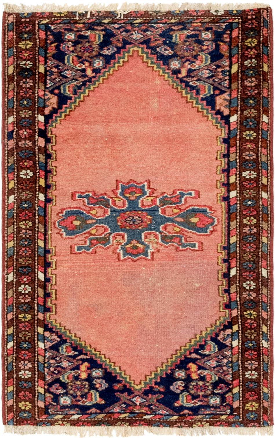 Pink 2 4 X 3 10 Hamedan Persian Rug Persian Rugs Handknotted Com