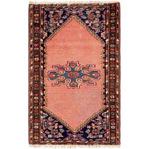 2' 4 x 3' 10 Hamedan Persian Rug