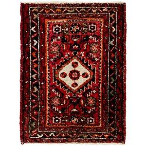 2' x 2' 7 Hamedan Persian Rug