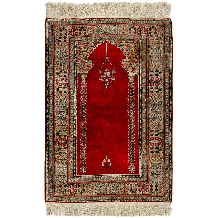 3' x 4' 4 Lahour Oriental Rug