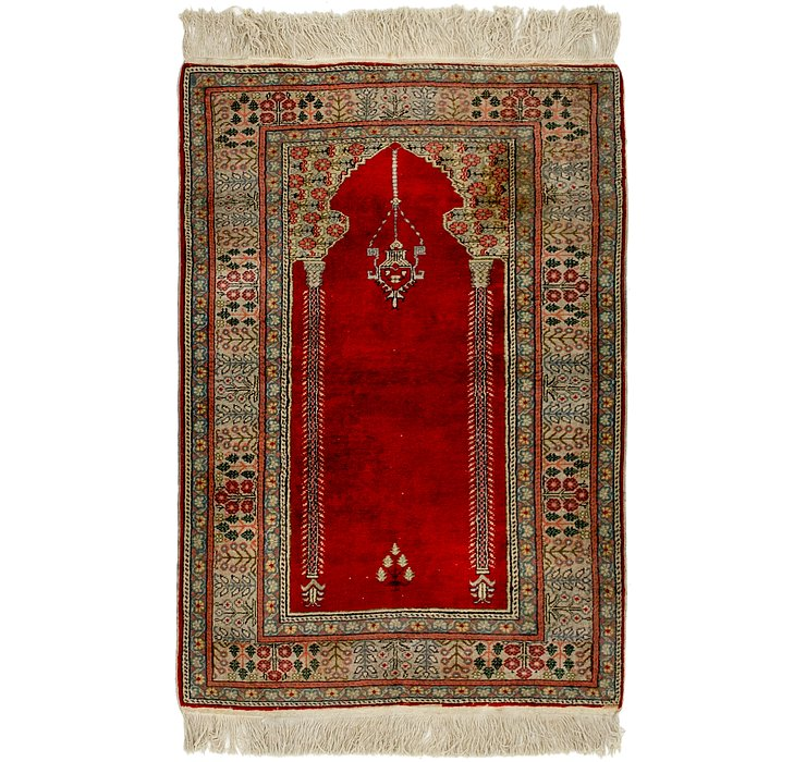 90cm x 132cm Lahour Oriental Rug
