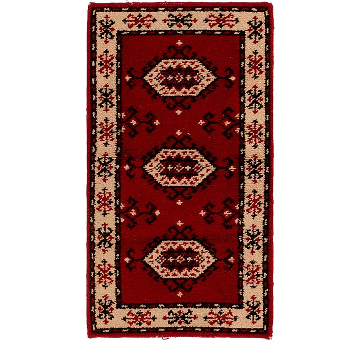 HandKnotted 2' 7 x 4' 8 Moroccan Rug