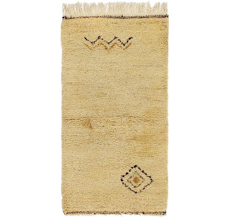 2' 7 x 4' 9 Moroccan Rug