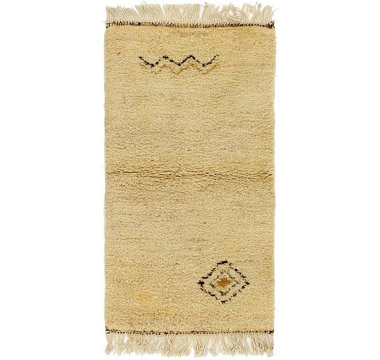 2' 6 x 4' 9 Moroccan Rug