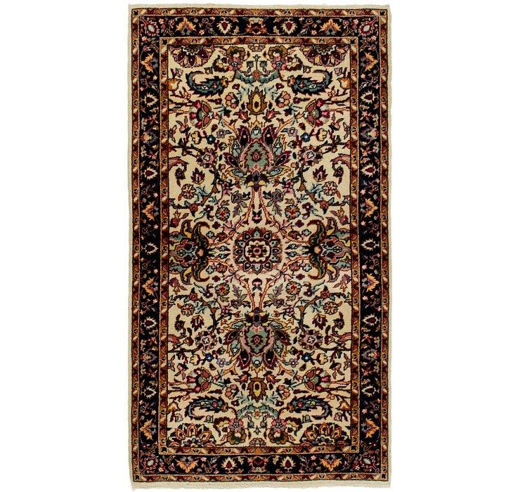 2' 5 x 4' 6 Kashan Oriental Rug