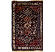 Link to 5' 3 x 8' Yalameh Persian Rug