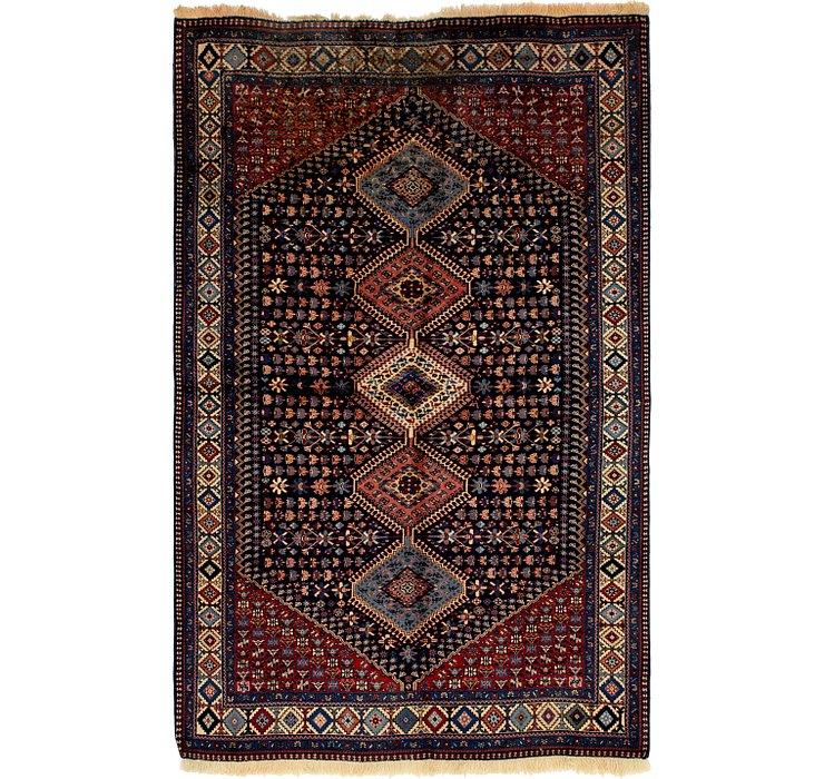 5' 3 x 8' Yalameh Persian Rug