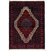 Link to 117cm x 170cm Senneh Persian Rug
