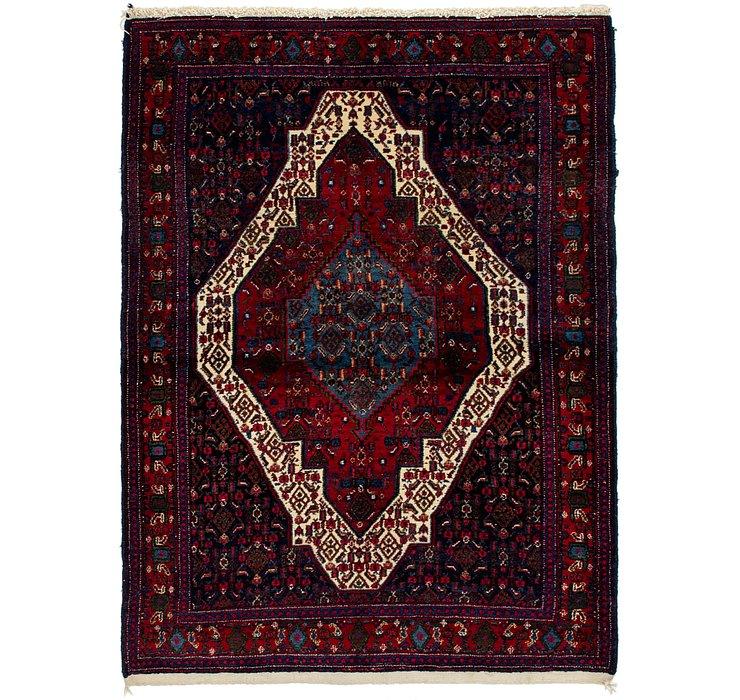 117cm x 170cm Senneh Persian Rug