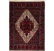 Link to 122cm x 165cm Senneh Persian Rug