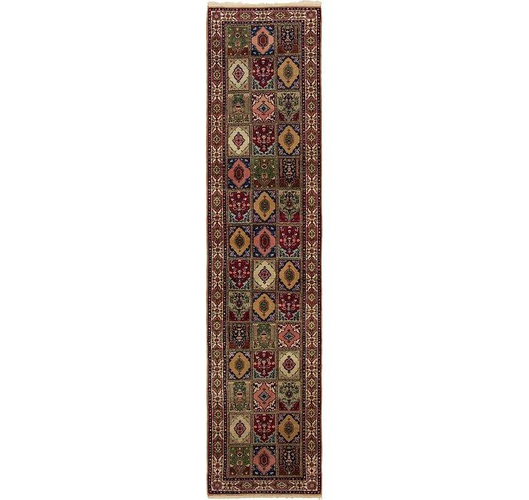 2' 9 x 11' 8 Tabriz Runner Rug