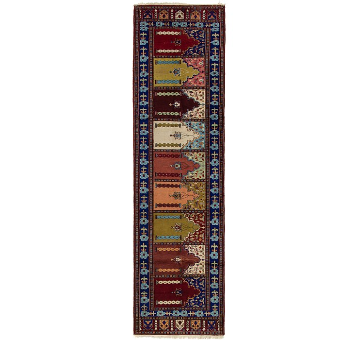2' 6 x 9' 4 Lahour Oriental Runner ...