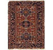 Link to 3' 2 x 4' Gharajeh Persian Rug