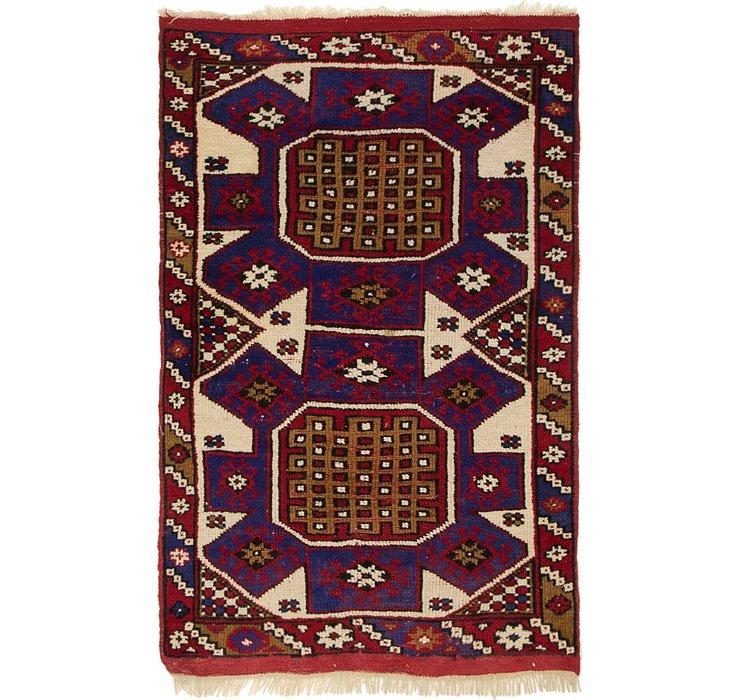 2' 8 x 4' 3 Anatolian Rug