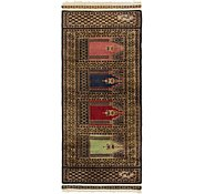 Link to 2' x 4' 8 Lahour Oriental Rug