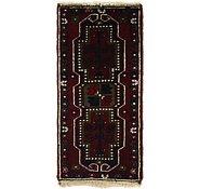 Link to 1' 6 x 3' Hamedan Persian Rug