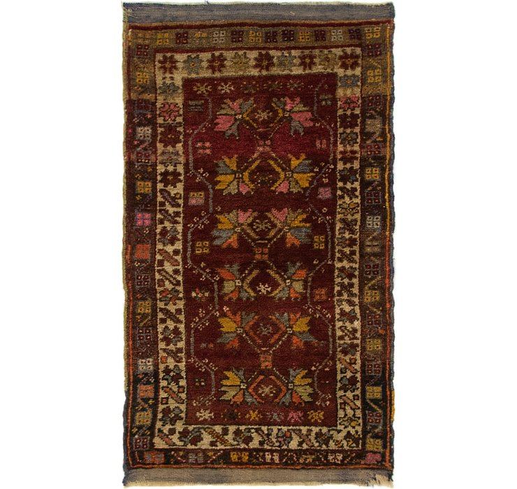 53cm x 97cm Anatolian Oriental Rug