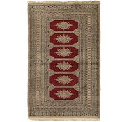 Link to 3' 3 x 5' Bokhara Persian Rug