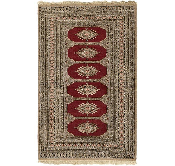 3' 3 x 5' Bokhara Persian Rug