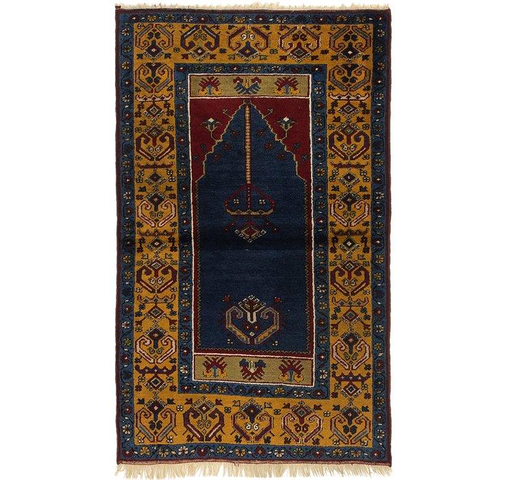 3' 2 x 5' Anatolian Oriental Rug