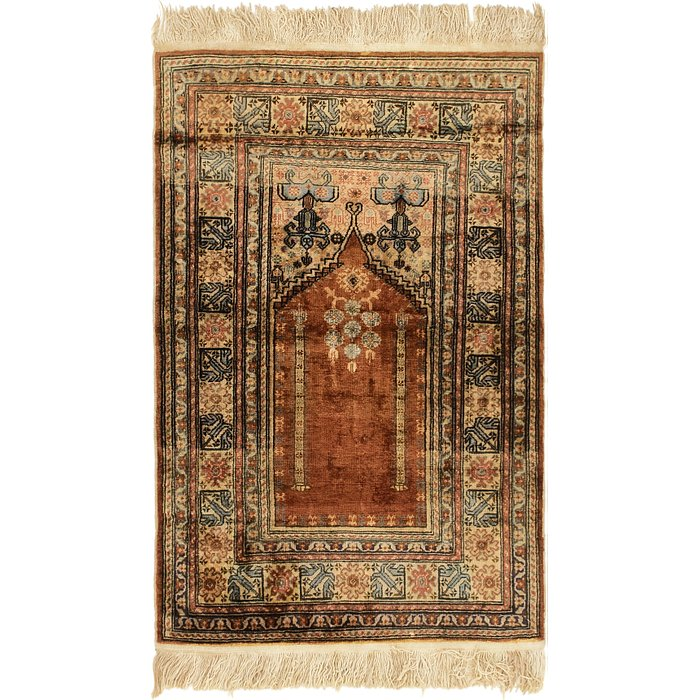 2' 10 x 4' 4 Lahour Oriental Rug