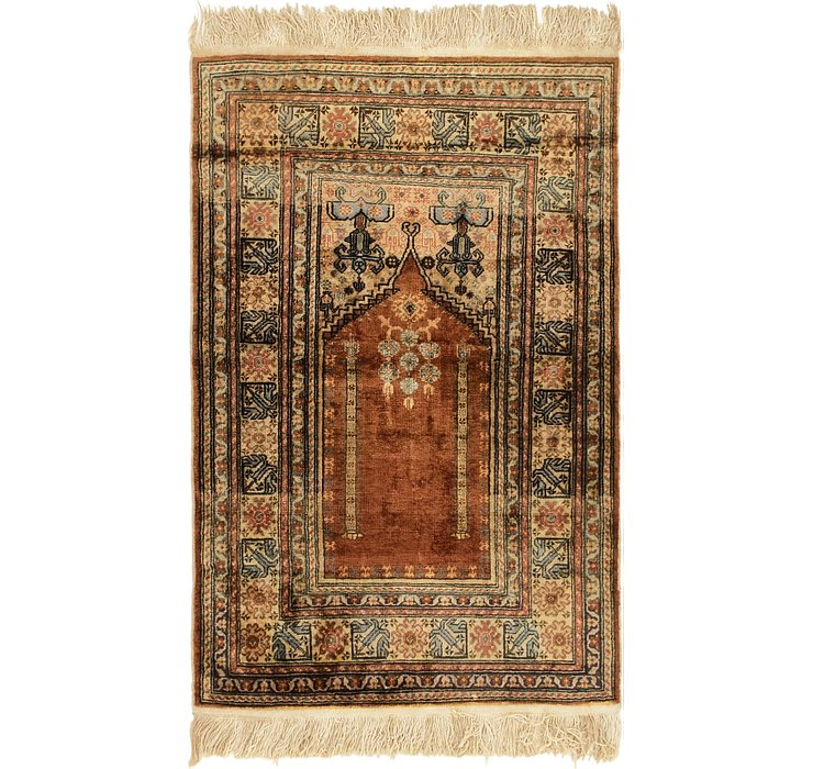 2' 10 x 4' 4 Lahour Oriental Rug