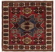 Link to 3' 7 x 3' 7 Anatolian Oriental Square Rug