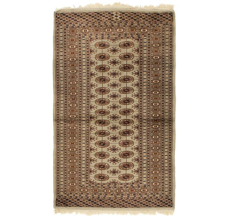 3' 5 x 5' 5 Bokhara Oriental Rug