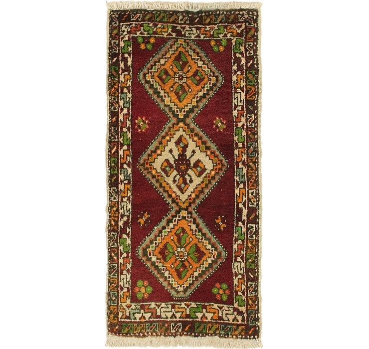 1' 7 x 3' 3 Anatolian Rug
