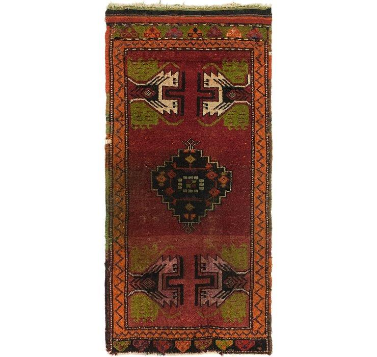 1' 9 x 3' 7 Anatolian Rug