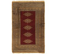 Link to 2' 6 x 4' Bokhara Oriental Rug