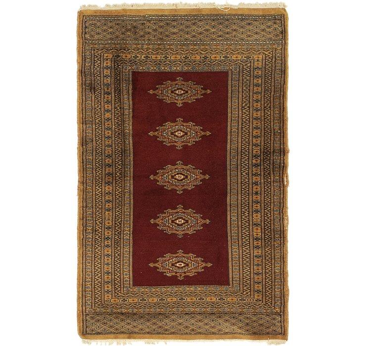 2' 6 x 4' Bokhara Oriental Rug