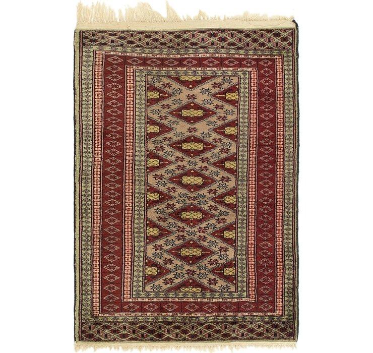 2' 2 x 3' 2 Bokhara Oriental Rug